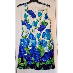 ❗️SALE❗️Jessica Howard Blue Floral Dress Size 10